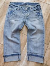 467d3f474cf Dámské 7 8 kalhoty-džíny-vel.27