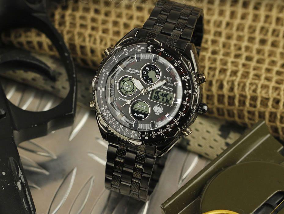 Pánské luxusní značkové hodinky infantry 2619ef1917