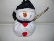 plyšová hračka - sněhulák,,belgie,