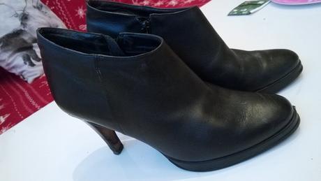 Kotníkové kožené boty buffalo, 38