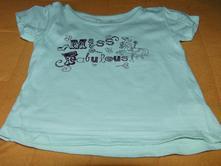 Dívčí tričko vel.12-18m, early days,86