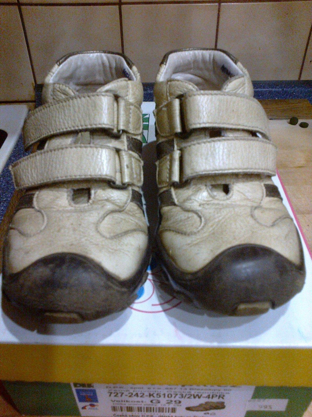 Kožené celoroční boty dpk 084c79e985