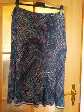 letní látková sukně, marks & spencer,xl