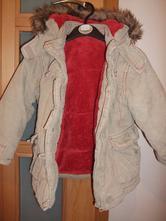 Kordová bundička s teplou plyšovou podšívkou, cherokee,104