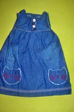 Tenké jarní/letní šaty na 3-6měs., f&f,68