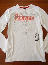 Bavlněné bílé triko vel 146-152, 152