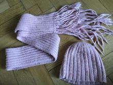 Zimní čepice a šála vel. 98 - 104, 98