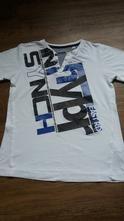 Moderní triko s knoflíky u krku, c&a,134