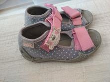 Sandalky befado šedé, befado,21