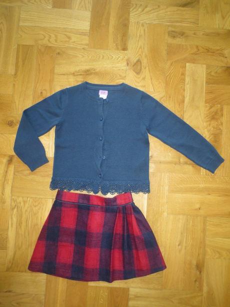 Komplet sukně a svetřík, f&f,104