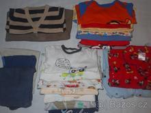 Balík oblečení 22 ks pro chlapečka 0-12 měsíců,