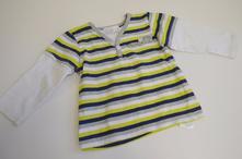 Dívčí pruhované tričko č.44, baby,80