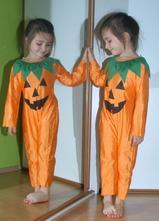 Karnevalový overal dýně + čepice  halloween,