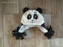 Fleesová čepice panda, original marines,80