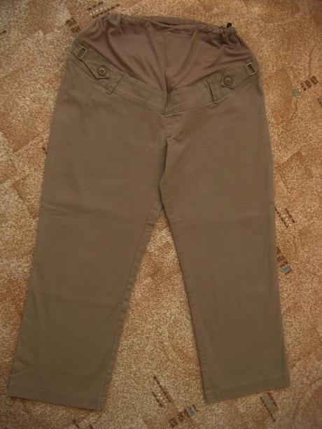 Těhotenské 3/4 kalhoty c&a jessica- vel. 36, 36