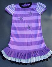 Jarní šaty, šatičky s kanýrem, 110