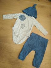 Set body, kalhoty, čepička, f&f,62