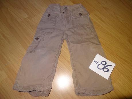 H&m plátěné kalhoty, h&m,86