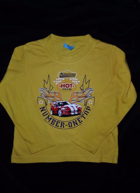 Žluté tričko vel 98, 98