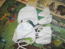 Flísová čepice a ťapky, 80