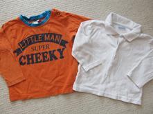 Bílé tričko, cherokee,80