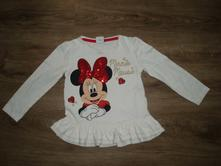 Tričko tunička minnie 3-4 roky, disney,104
