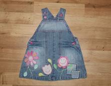 Kytičkové laclové šaty, next,68