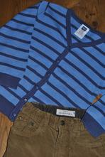 M&co tenký, propínací, bavlněný svetr, m&co,110