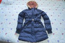 Zimní prošívaná bunda bundička yfk, 134