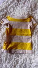 Dlouhé tričko / šatečky gap, gap,86