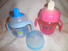 Dětské lahve  s držadly,