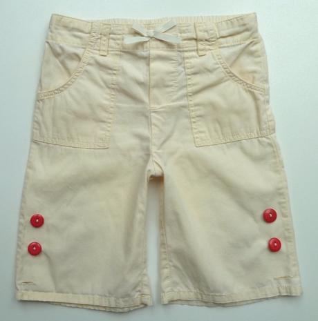 Plátěné roll ap capri kalhoty kraťasy vel. 68, 68