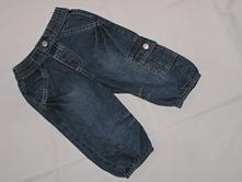 Kalhoty riflové - vel. 68 (681), baby club,68