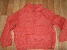 Červená větrovka,šusťáková bunda , 110