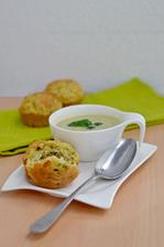 ♥Cuketový krém s cuketovými muffins♥