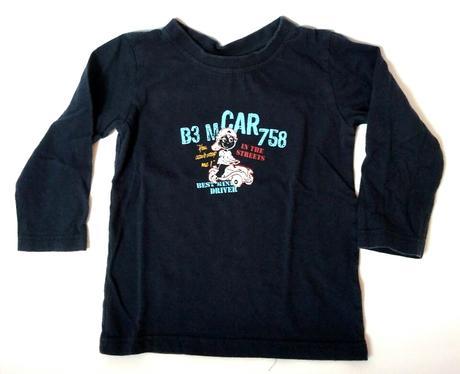 S81 - tričko tmavě modré, topolino,92