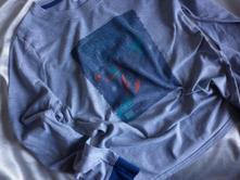 Vel. 164 šedé triko na spaní, 164