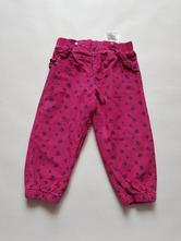Podšité manžestrové kalhoty, lupilu,86