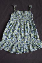 Letní květované šaty, george,86