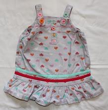 Z45. manšestrové šaty 3-6 měs., f&f,68