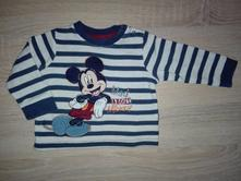 Triko mickey mouse 3-6m, disney,68