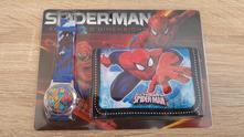 Hodinky + peněženka spiderman - sada č.1,