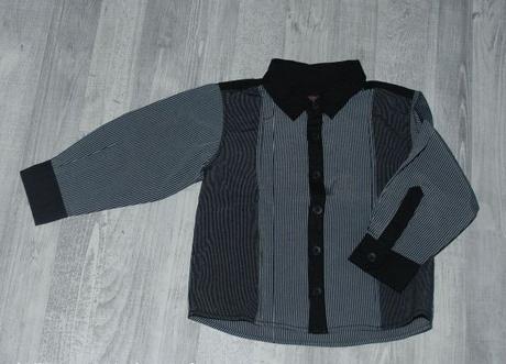 Chlapecká společenská košile s dlouhým rukávem, matalan,86