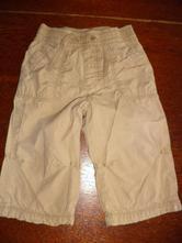 Podšité plátěné kalhoty, next,80