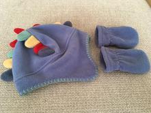 Flísová čepice a rukavičky, next,68