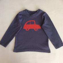 Tričko s autem zn. mothercare, mothercare,86