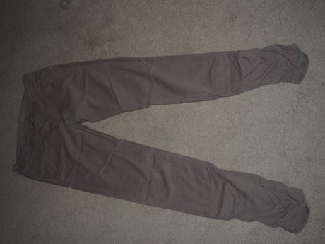 Plátěné kalhoty, xs