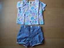 Letní souprava tričko + krátké kalhoty, f&f,68