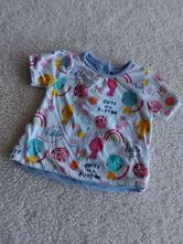Veselé oboustranné tričko vel.68/2367, mothercare,68