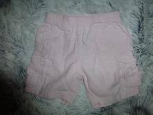 Růžové šortky 0-3m, next,62